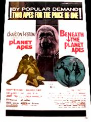 Vintage Movie Posters - Pics P-R James Whitmore Planet Of The Apes